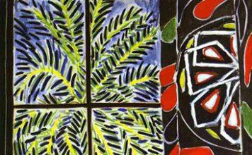 H. Matisse. Le rideau égyptien. 1949