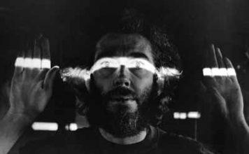 Portrait de Hollis Frampton par Marion Faller, 1975