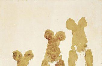 Yves Klein, Anthropométrie sans titre, ANT 92, 1960