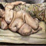 Lucian Freud : cadre d'une société de prévoyance sociale endormie (1995)