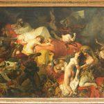 Eugène DELACROIX - Mort de Sardanapale - Salon de 1827
