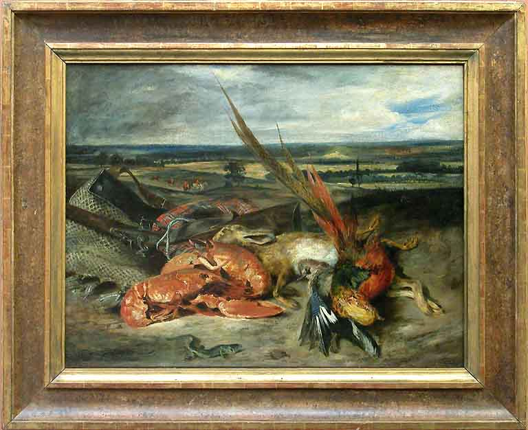 Eugène DELACROIX - Nature morte aux homards - 1826 - 1827