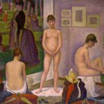 Georges Seurat, les poseuses, 1886-1888
