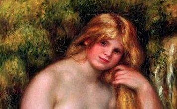 P. A. Renoir. La Source (1906) (Détail)