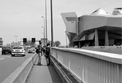 Samedi 28 juin, Pont de la Mulatière, arrivée à Lyon.
