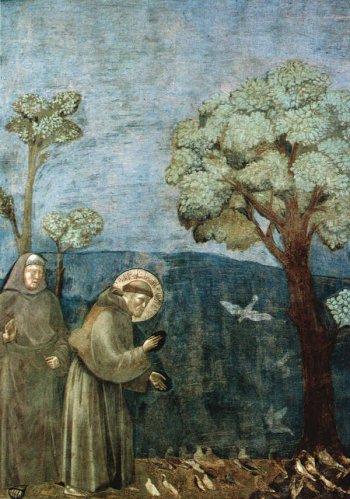 Fresque de la vie de saint François à Assise, Giotto, XIIIe siècle