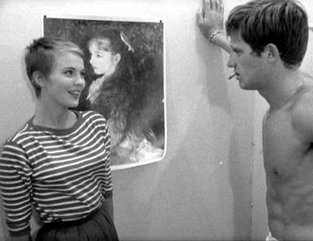 A bout de souffle, film de Jean-Luc Godard, 1960